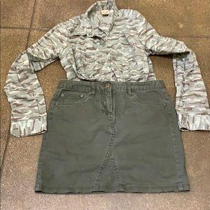 KENAR short skirt